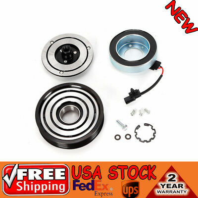 A//C AC Compressor Clutch Kit Fit for Nissan Rouge S SV Sport 2500CC L4 NEW