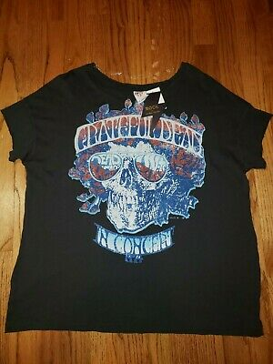 ee379965 Womens Grateful Dead T-Shirt Brand New with Tags Rock by Junkfood Medium