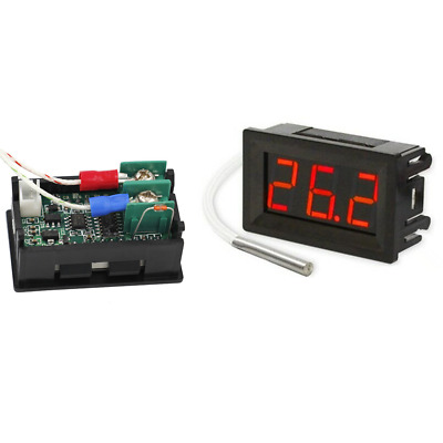 DC 12V B310 Digital Thermometer Industrial Temperature Meter K Type Thermocouple