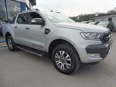 2018 Ford Ranger WILDTRAK 4X4 DOUBLECAB 3.2 TDCI Diesel silver Automatic