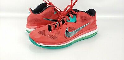 781ad792431d7 NIKE Lebron  9 Low Liverpool Action basketball Men s Red Green US Size 14