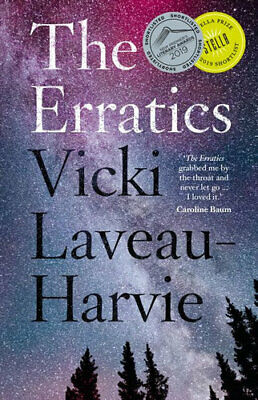 NEW The Erratics By Vicki Laveau-Harvie Paperback Free Shipping