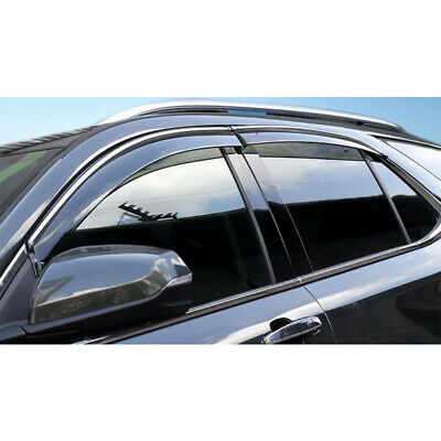 Smoke Window Rain Visor for Chevrolet Equinox 18-2019 Vent Sun Deflectors Guard