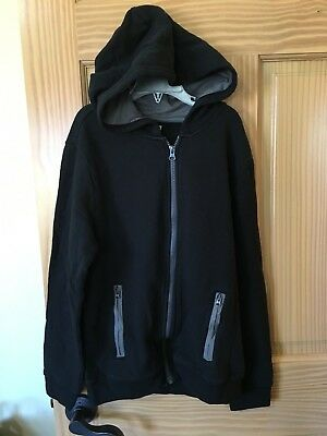 NWT Gymboree Boys SweatShirt Jacket Hooded Black 5/6,7/8,10/12,14