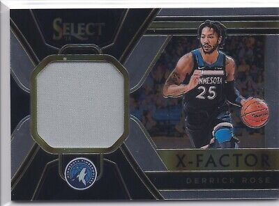 f0ed5dbdb4a1 2018-19 SELECT DERRICK Rose GOLD Prizm Refractor Courtside  10 ...