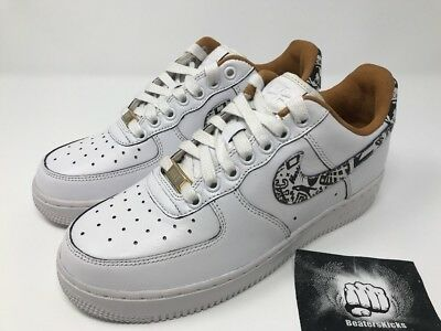 huge discount 6a744 6282c Nike Air Force 1 PRM NYC Soho Laser Exclusive ID New Mens Size 6.5  921807