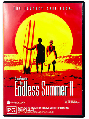 The Endless Summer 2 II DVD Cult Surfing Documentary - Bruce Brown Surf Movie