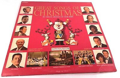 GREAT SONGS OF Christmas By Great Artists Of Our Time Album 6 CSS