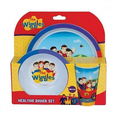 NEW The Wiggles Mealtime Dinner Set