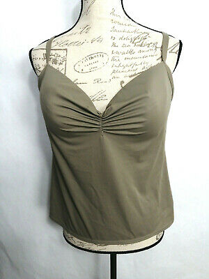a01296bc887712 VS Victorias Secret Camisole Bra Tank Top Size 38DD Padded Underwire Beige  NEW