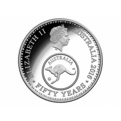 2016 Australian Proof 5c Changeover Coin From Royal Australian Mint Proof Set
