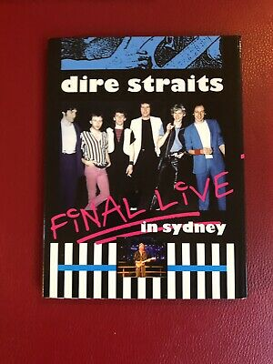 Dire Straits Final Live In Sydney DVD Factory Pressed ! Rare
