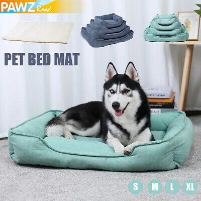 Pet Dog Cat Bed Cage Cushion Winter Warm Mat Large Pad Self Heating Mattress