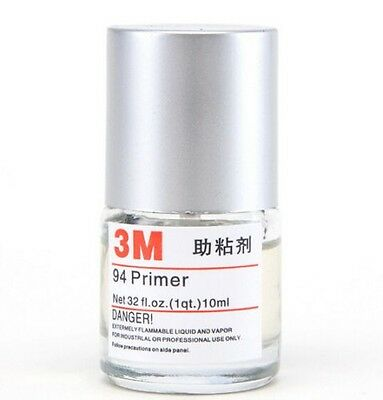 3M 94 Primer Double-sided Adhesive Adhesion Promoter Adhesive 10ml x1 FREE SHIP