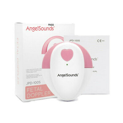 AngelSounds/JUMPER Fetal Doppler Baby Heat Beat Rate Sound Monitor CE Certified