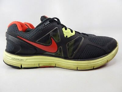 low priced 67f7c faf24 Nike Lunarglide 3 Taille 13 Ans M (D) Ue 47.5 Homme Chaussures Course Noir