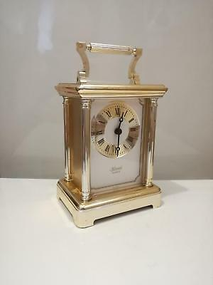 Vintage Hermle 2100 Quartz Mantle Clock Made In  West Germany