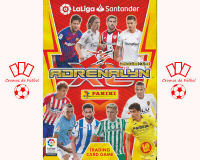 #253-270. Rayo Vallecano - Panini Adrenalyn XL Liga 2018/2019 | Cromo/Card