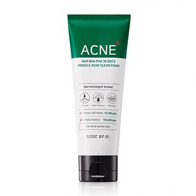 [SOME BY MI] AHA.BHA.PHA 30 Days Miracle Acne Clear Foam 100ml