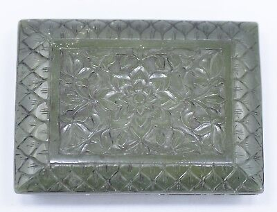 Mughal style jade carved box collectible