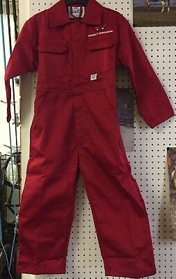 MF Massey Ferguson Childrens Kids Overalls Boilersuit New