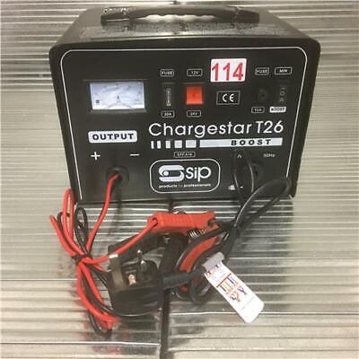 SIP 05284 Chargestar T26 Heavy Duty Trade Battery Charger 12v /24v  ( Ref 114 )