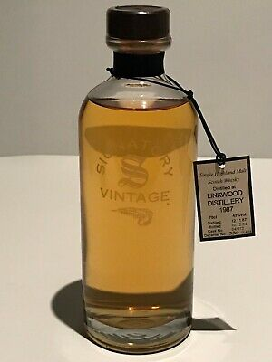WHISKY SIGNATORY VINTAGE LINKWOOD 1987 THE DECANTER COLLECTION 18 YEARS 70cl.