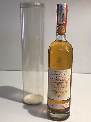THE SECRET TREASURES OLD BARBADOS 1995 RHUM RUM RON 70cl. BOTTLE No 978 IN BOX