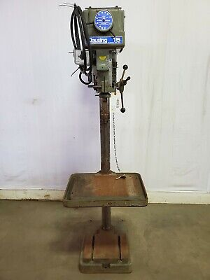 Clausing Industrial Drill Press, Model 1771, 208-230/460, 3Ph, 3/4 HP