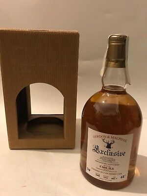 WHISKY CAOL ILA GORDON & MACPHAIL FINISHED PX SHERRY BOTTLE IN 2009 BOX 70cl.