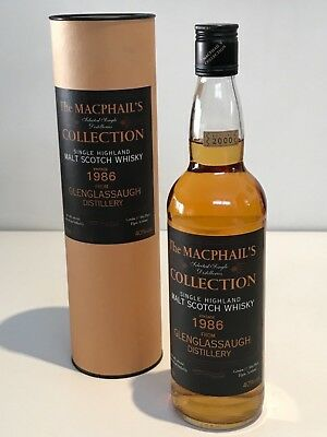GLENGLASSAUGH 1986 14 YEARS MACPHAILS COLLECTION SINGLE MALT SCOTCH WHISKY 70cl.