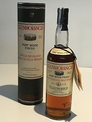 WHISKY GLENMORANGIE PORT WOOD FINISH HIGHLAND MALT 70cl. IN BOX