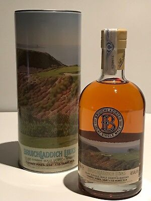 WHISKY BRUICHLADDICH LINKS TORREY PINES USA 15 YEARS SINGLE HIGHLAND MALT 70cl.