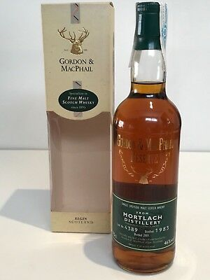 WHISKY MORTLACH 1983 GORDON & MACPHAIL RESERVE 18 YEARS OLD BOTTLE IN 2001 70cl