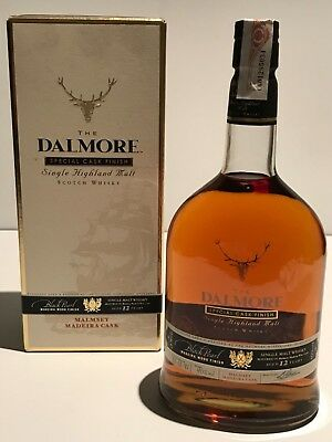 Whisky Dalmore Special Madeira Cask 12 Years Old Highland Single Malt 1L.