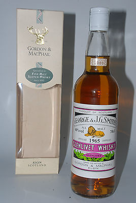 WHISKY GLENLIVET 1965 GORDON & MACPHAIL 35 YEARS OLD BOTTLE IN 2000 BOX 70cl.