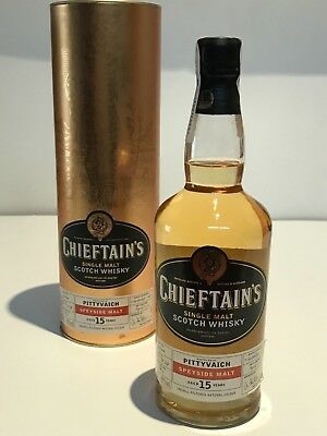 Whisky Chieftains Pittyvaich 15 Years Old Limited Distilled 1986 Bottle 2002