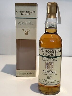 WHISKY GLENCRAIG 1975 CONNOISSEURS CHOICE 25 YEARS OLD BOTTLE IN 2000 70cl.