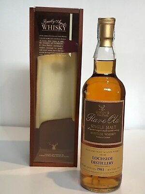WHISKY LOCHSIDE 1981 GORDON & MACPHAIL 19 YEARS OLD BOTTLE IN 2000 BOX 70cl.