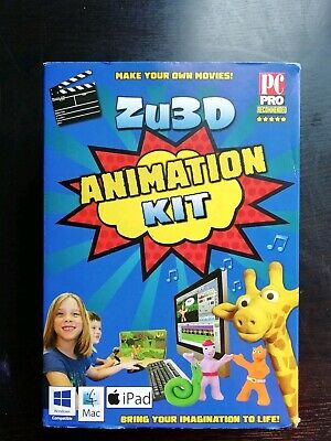 ZU3D STOP MOTION Animation Kit for Windows PCs, Apple Mac OS