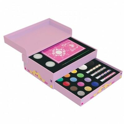 Small Jewellery Pink Box - Girls Party Snazaroo Face Painting Gift Set - 1198016