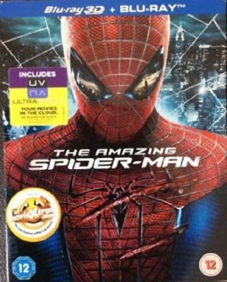 blu ray brd (no dvd) NUOVO SIGILLATO THE AMAZING SPIDER-MAN in 3d Vers italiana
