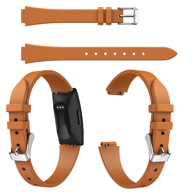 Unique Watch Wristwatch Band Strap Leather Classic for Fitbit Inspire/Inspire HR
