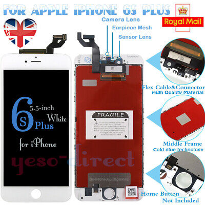 White For iPhone 6S Plus Screen Replacement Digitizer LCD Touch Display Assembly