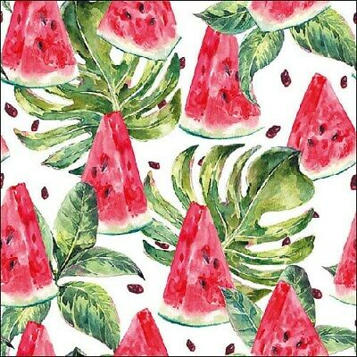 Strawberries Design cr... 4 Individual Napkins for decoupage junk journaling