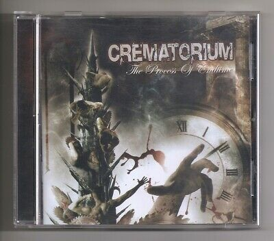 Crematorium-The Process of Endtime-2005 CD-Deathcore Metal