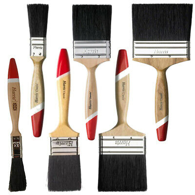 Harris Classic Paintbrush Brush Pure Bristle Paint Brush Gloss