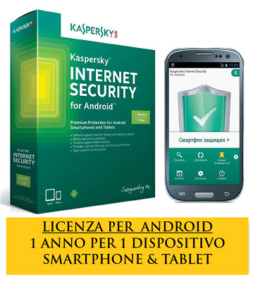 Kaspersky Internet Security per Android 2019- 100%ORIGINALE