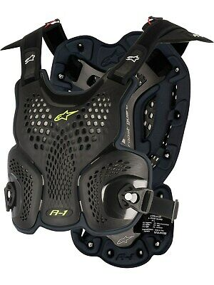 Alpinestars Black-Anthracite A1 Roost MX Chest Protector