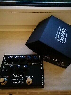 MXR Bass DI Preamp Distortron Overdrive direct out